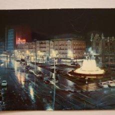 Cartoline: SANTANDER - PLAZA DEL GENERALÍSIMO - FUENTE LUMINOSA - LAXC - P60438. Lote 283305588