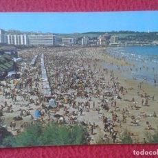 Postales: POST CARD CARTE POSTALE POSTKARTE SANTANDER CANTABRIA EL SARDINERO 2ª PLAYA BAÑISTAS ALMACENES RODU. Lote 285079368