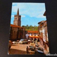 Postales: COMILLAS CANTABRIA PLAZA DEL GENERALISIMO. Lote 286679068