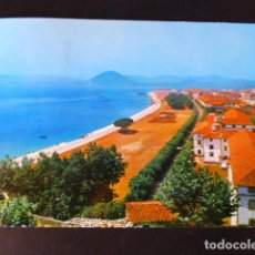 Postales: SANTOÑA CANTABRIA PASEO DE PEREDA Y BAHIA. Lote 286679358