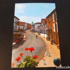 Postales: PUENTE VIESGO CANTABRIA CALLE PRINCIPAL. Lote 286679758