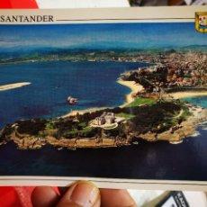 Postales: POSTAL SANTANDER CANTABRIA PENÍNSULA Y PALACIO DE LA MAGDALENA N 34 DOMÍNGUEZ S/C. Lote 286852808