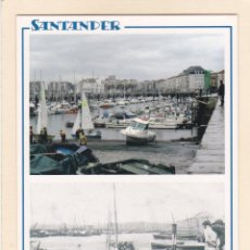 Postales: SANTANDER. RAMPA DE PUERTOCHICO EN 2005 Y APROX. EN 1904 (2005). Lote 288075073