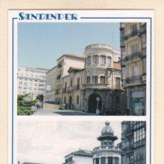 Postales: SANTANDER. BOMBEROS VOLUNTARIOS EN 2005 Y APROX. EN 1920 (2005). Lote 288106458