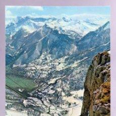 Postales: POSTAL PICOS EUROPA FUENTE DE TELEFÉRICO NIEVE FOTO BUSTAMANTE CIRCULADA SELLO 1977. Lote 288683498