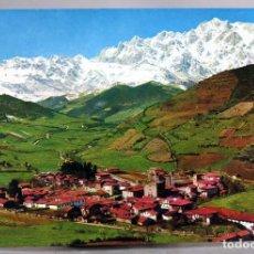 Postales: POSTAL PICOS EUROPA POTES Y MACIZO ORIENTAL NEVADO FOTO BUSTAMANTE AÑOS 60 SIN CIRCULAR. Lote 288684258