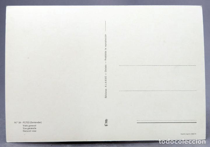 Postales: Postal Potes Vista general Ediciones Alarde años 60 sin circular - Foto 2 - 288685418