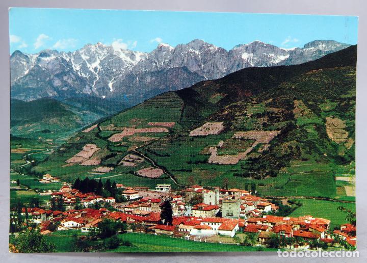 POSTAL POTES VISTA GENERAL EDICIONES ALARDE AÑOS 60 SIN CIRCULAR (Postales - España - Cantabria Moderna (desde 1.940))
