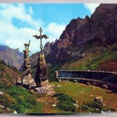 Postales: POSTAL PICOS EUROPA VALLE DE VALDEÓN MIRADOR DELGADO UBEDA EDICIONES SICILIA AÑOS 60 SIN CIRCULAR. Lote 288686123