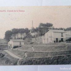Postais: POSTAL COMILLAS, CHALETS DE LA ESTATUA, CIRCULADA, AÑO 21-12-1944. Lote 289667413