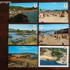Postales: UNA POSTAL DEL PUEBLO DE ISLA Y NOJA PERTENECIENTE AL MUNICIPIO DE ARNUERO 6 TARJETAS A ELEGIR. Lote 289731073