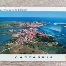 Postales: TARJETA POSTAL AÑO 2000 - L. DOMINGUEZ - 17 SAN VICENTE DE LA BARQUERA CANTABRIA - NUEVA. Lote 292274773