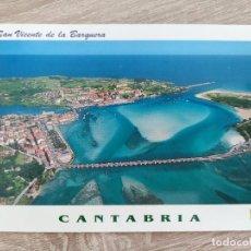 Postales: TARJETA POSTAL AÑO 2000 - L. DOMINGUEZ - 11 SAN VICENTE DE LA BARQUERA CANTABRIA - NUEVA. Lote 292274808