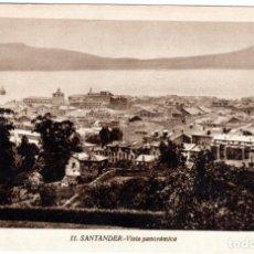 Postales: BONITA POSTAL - SANTANDER - VISTA PANORAMICA. Lote 293282878