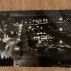 Postales: CASTRO URDIALES - VISTA NOCTURNA DEL PARQUE - Nº 19 ED. ARRIBAS. Lote 294079693