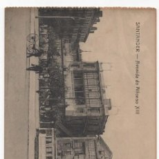 Postales: POSTAL- SANTANDER- AVENIDA ALFONSO XIII. Lote 294565143