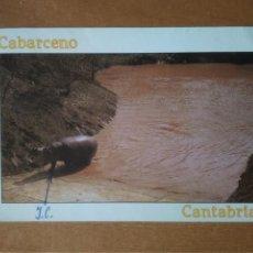 Postales: CABARCENO (CANTABRIA) - PARQUE DE LA NATURALEZA. HIPOPOTAMO (ESCRITA Y CIRCULADA). Lote 294817463