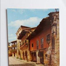 Postales: POSTAL - SANTILLANA DE MAR - SANTANDER - CALLE TIPICA NUM. 2. Lote 294859353