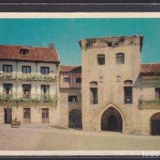 Postales: 7 - SANTILLANA DEL MAR PLAZA DE ISABEL 2ª. (II) Y CASA DE LOS BORJAS. (CANTABRIA, SANTANDER, ESPAÑA). Lote 295047968