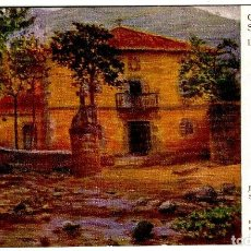 Postales: LIMPIAS (SANTANDER) - CASA SOLARIEGA - F. RAFAEL SEGURA - ED. VICTORIA - 138X87MM.. Lote 295538958