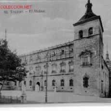Postales: 7-A82. TOLEDO Nº 92. EL ALCAZAR. Lote 1941939