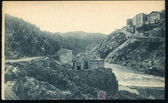 TARJETA POSTAL DE TOLEDO Nº 71 - UN RICON DEL TAJO,GRAFOS,MADRID (Postales - España - Castilla La Mancha Antigua (hasta 1939))