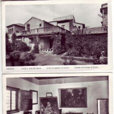 Postales: LOTE DE 2 POSTALES FOTOGRAFICAS DE TOLEDO. Lote 3591129