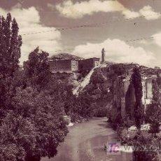 Postales: POSTAL FOTOGRAFICA DE CUENCA. RIO JUCAR.CIRCULADA EN 1954.. Lote 18448349