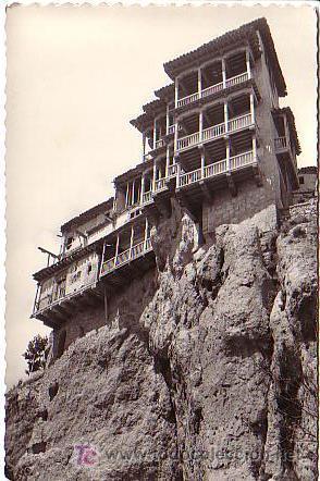 CUENCA.- CASAS COLGADAS (Postales - España - Castilla La Mancha Antigua (hasta 1939))