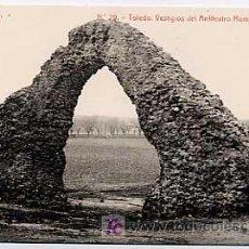 Postcards - TOLEDO. VESTIGIOS DEL ANFITEATRO ROMANO, UNA PUERTA. ED. MENOR Nº 29. FOTOTIPIA THOMAS 56O. SIN CIRC - 4676938