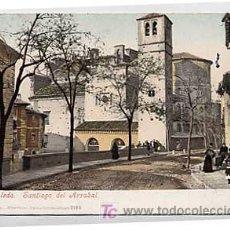 Postales: TOLEDO. SANTIAGO DEL ARRABAL. PURGER & CO. REVERSO SIN DIVIDIR. CIRCULADA. Lote 22863448