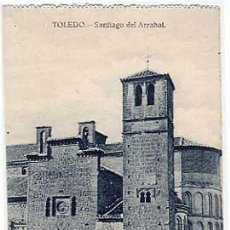 Postales: TOLEDO. SANTIAGO DEL ARRABAL . GRAFOS. SIN CIRCULAR. Lote 5784854