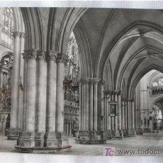 Postales: FOTOPOSTAL DE TOLEDO CATEDRAL NAVE LATERAL. Lote 6137162