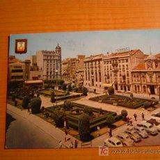 Postales: POSTAL ALBACETE PLAZA DEL CAUDILLO CIRCULADA. Lote 6281670