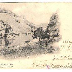 Postales: TARJETA POSTAL DE TOLEDO. ORILLAS DEL TAJO. 720 HAUSER Y MENET. - MADRID.. Lote 6995155