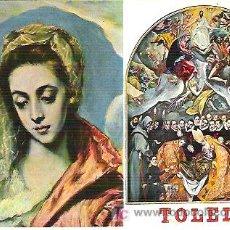 Postales: 1516 TOLEDO *** SAGRADA FAMILIS *** ARRRIBAS ** 1970. Lote 6928649