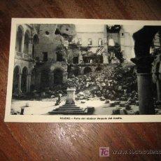 Postales: TOLEDO PATIO DEL ALCAZAR DESPUES DEL ASEDIO . Lote 8156243