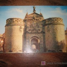 Postales: TOLEDO PUERTA DE BISAGRA . Lote 7477556