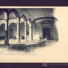 Postales: POSTAL DE TOLEDO: PATIO DEL HOSPITAL DE SAN JUAN DE AFUERA (HAUSER Y MENET NUM.809). Lote 7481491