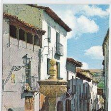 Postales: POSTAL DE GUADALAJARA, PASTRANA, FUENTE DE LOS CUATRO CAÑOS. Lote 7498652