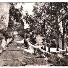 Postales: POSTAL DE CUENCA -45- BAJADA DE LA MAGDALENA (ED FOTOTIPIA ARTISTICA ESP., CIRCULADA 1961). Lote 27611452