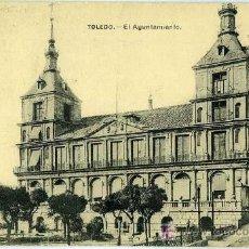Postales: POSTAL TOLEDO EL AYUNTAMIENTO. Lote 7641057
