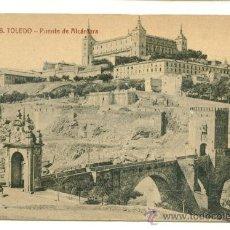 Postales: TOLEDO, PUENTE DE ALCANTARA. Lote 8096637