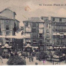 Postales: TOLEDO.Nº 10. PLAZA DE ZOCODOVER.POSTAL DE GRAFOS, MADRID.. Lote 26822952
