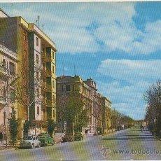 Postales: POSTAL DE ALBACETE AVENIDA DE RODRIGUEZ ACOSTA. Lote 8660537