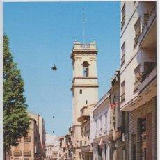 Postales: POSTAL DE ALMANSA PLAZA CAUDILLO ALBACETE . Lote 12451368
