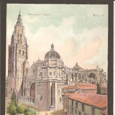 Postales: TOLEDO. LA CATEDRAL. HISTORIA Y ARTE NÚM. 12. FOT. LAURENT. SIN DIVIDIR. Lote 27415529