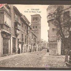 Postales: TOLEDO. 29 CALLE DE SANTO TOMÉ. COLECCIÓN VDA E HIJOS DE J. PELÁEZ.. Lote 27516175