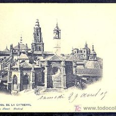 Postales: TOLEDO. ABSIDE DE LA CATEDRAL. 1357 HAUSER Y MENET.. Lote 9056467