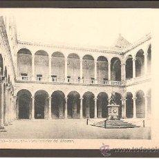 Postales: TOLEDO. NÚM.36. VISTA INTERIOR DEL ALCAZAR. FOT. LAURENT. SIN DIVIDIR. Lote 27516176